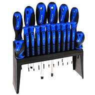 GEKO Set of 18 Screwdrivers in a Stand