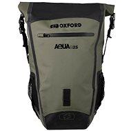 OXFORD Waterproof backpack Aqua B-25 (khaki / black, volume 25 l) - Motorcycle Bag