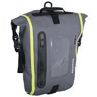 OXFORD Aqua M8 motorcycle tank bag (black / gray / yellow fluo, with magnetic base, volume 8 l) - Tank Bag