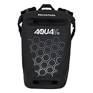 OXFORD Waterproof backpack AQUA V12 (black, volume 12 L) - Motorcycle Bag