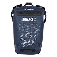 OXFORD Waterproof backpack AQUA V12 (dark blue, volume 12 L) - Motorcycle Bag