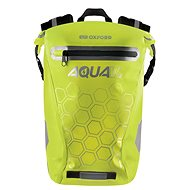 OXFORD Waterproof backpack AQUA V12 (yellow fluo, volume 12 L) - Motorcycle Bag