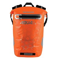 OXFORD Waterproof backpack AQUA V12 (orange, volume 12 L) - Motorcycle Bag