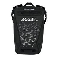 OXFORD Waterproof Backpack AQUA V20 (Black, 20L) - Motorcycle Bag