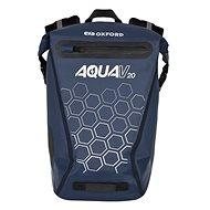 OXFORD Waterproof backpack AQUA V20 (dark blue, volume 20 L) - Motorcycle Bag