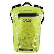 OXFORD Waterproof backpack AQUA V20 (yellow fluo, volume 20 L) - Motorcycle Bag