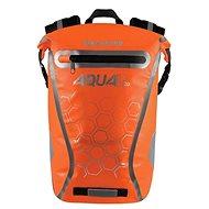 OXFORD Waterproof backpack AQUA V20 (orange, volume 20 L) - Motorcycle Bag