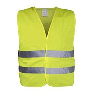 COMPASS Warning vest yellow XXL EN 20471: 2013 + A1: 2016 - Reflective Vest
