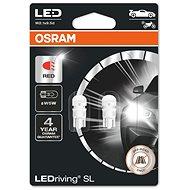 OSRAM LEDriving SL W5W Červená 12V dva kusy v balení - LED autožárovka
