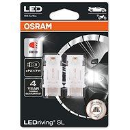 OSRAM LEDriving SL P27/7W Červená 12V dva kusy v balení