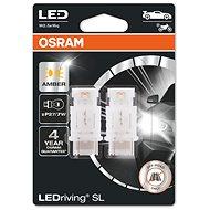 OSRAM LEDriving SL P27/7W Žlutá 12V dva kusy v balení - LED autožárovka