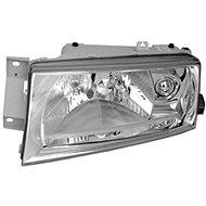 ACI ŠKODA OCTAVIA 01- přední světlo H4 čirá optika (el.ovládané+motorek) L - Přední světlomet