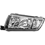 ACI ŠKODA FABIA 99-04 02- front light H7 + H3 with turn signal (Electrically controlled) (black) L - Front Headlight