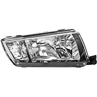 ACI ŠKODA FABIA 99-04 02- front light H7 + H3 with turn signal (Electrically controlled) (black) P - Front Headlight