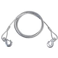 COMPASS Steel Towing Cable with Carabiners 5000kg - Tow Rope