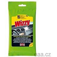 Arexons WIZZY - Čistící prostředek na plasty s leskem,Flowpack - 15 utěrek - Čisticí ubrousky
