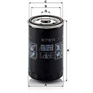 MANN-FILTER W719/14 pro vozy CHRYSLER;JEEP;PLYMOUTH
