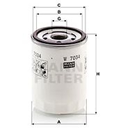 MANN-FILTER W7034 pro vozy FORD