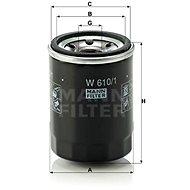 MANN-FILTER W610/1 pro vozy FIAT;SUBARU;SUZUKI;VW