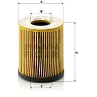 MANN-FILTER HU816/2x pro vozy FIAT;JEEP;MINI