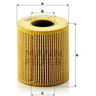 MANN-FILTER HU711/51x pro vozy CITROËN, FIAT, FORD, JAGUAR, LANCIA, LAND ROVER, MITSUBISHI, OPEL, PE - Olejový filtr