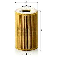 MANN-FILTER HU715/4x pro vozy BERTONE, BMW - Olejový filtr