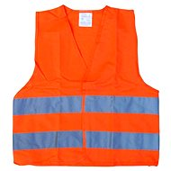 COMPASS orange warning vest EN 20471:2013 - Reflective Vest