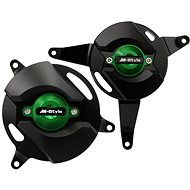 M-Style CNC engine covers Kawasaki Z900 green - Engine Guard