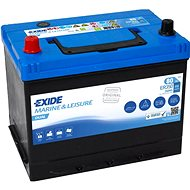 EXIDE DUAL ER350, baterie 12V, 80Ah - Trakční baterie