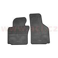 RIGUM ŠKODA OCTAVIA 04-12 gumové koberečky černé (sada 2 ks, pouze pro řidiče a spolujezdce) - Autokoberce