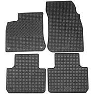 RIGUM VW TOUAREG 18- gumové koberečky černé (sada 4ks)