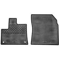 RIGUM CITROEN Berlingo 18- gumové koberečky černé (2 sedadla, sada 2 ks)