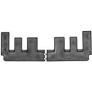 RIGUM FORD Custom 18- gumové koberečky černé (pro 3. řadu sedadel, sada 2 ks)