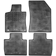 RIGUM PEUGEOT 508, 18- gumové koberečky černé (sada 4 ks)