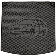 ACI SEAT Leon 13- gumová vložka černá do kufru s ilustrací vozu (ST vrchní i spodní dno) - Vana do kufru