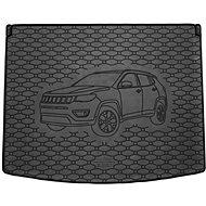 ACI JEEP COMPASS 17- gumová vložka černá do kufru s ilustrací vozu (HB-horní i dolní poloha) - Vana do kufru