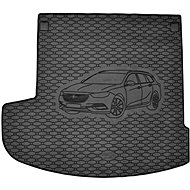 ACI OPEL Insignia 2017-> Rubber Boot Tray with Car Illustration, Black (Estate) - Boot Tray