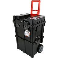 Yato Vozík na nářadí pojízdný plastový, 2 sekce - Vozík na nářadí