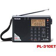 Tecsun PL-310ET přehledový přijímač - Vysílačka