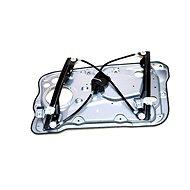 CN Fabia I glass starter front left electric with sheet metal - Binder