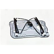 CN Fabia I glass starter front right electric with sheet metal - Binder
