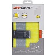 Lifehammer Products Bezpečnostní vesta 4ks – LIFEHAMMER ULTRA - Reflexní vesta