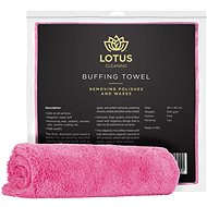Lotus Pink Buffing Towel 550gsm - Utěrka