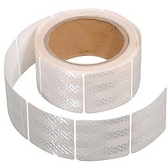 COMPASS Self-adhesive reflective tape divided 5m x 5cm white (rolls 5m) - Printer Ribbon