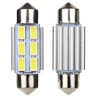 M-Style LED žárovka sufit 36mm 12V 6SMD 5630 - LED autožárovka
