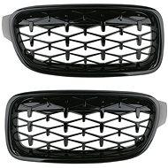 M-Style Přední maska ledvinky Diamond BMW 3 F30 F31 černá - Příslušenství do auta