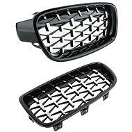 M-Style Přední maska ledvinky Diamond BMW 3 F30 F31 černá-chrom - Příslušenství do auta