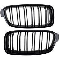 M-Style Přední maska ledvinky M-look BMW 3 F30 F31 černá - Příslušenství do auta