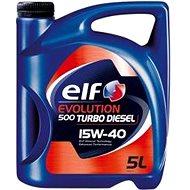 ELF EVOLUTION 500 TURBO DIESEL 15W40 5L - Motorový olej