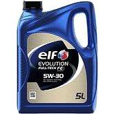 ELF EVOLUTION FULL-TECH FE 5W30 5L - Motorový olej